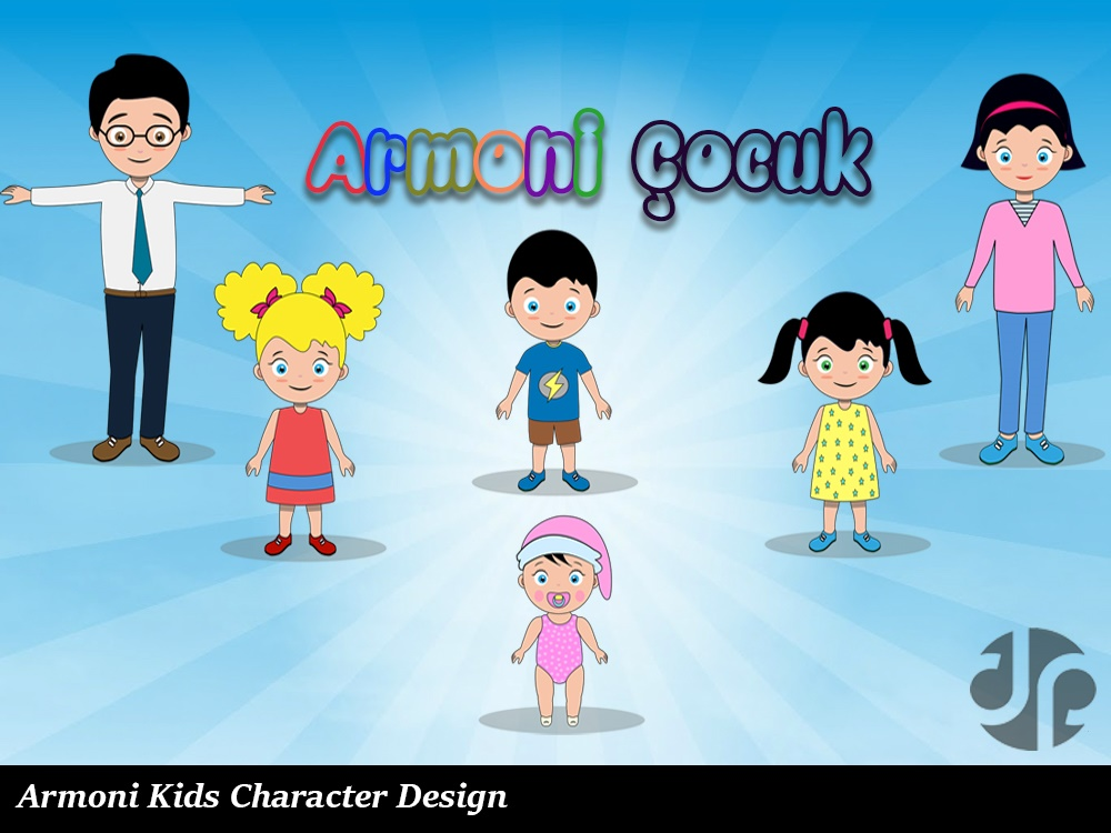 Animoni Child Character Design