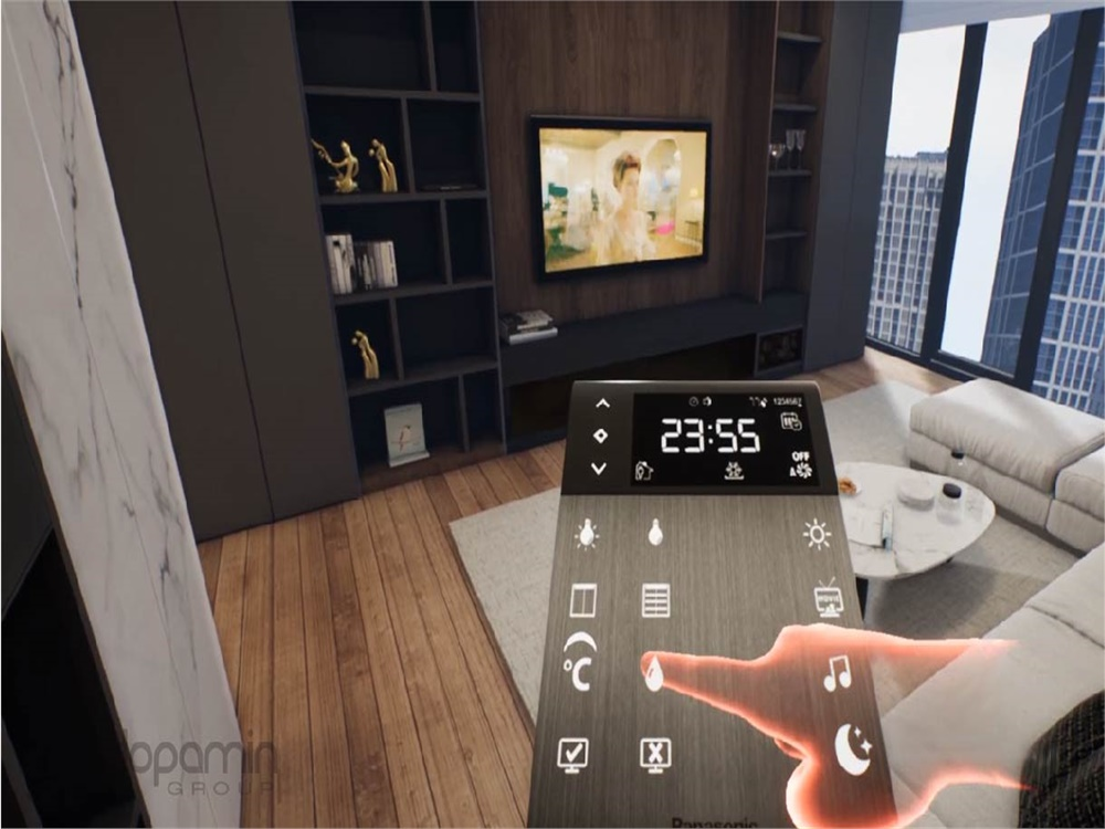 Smart Home System VR (Virtual Reality) Project