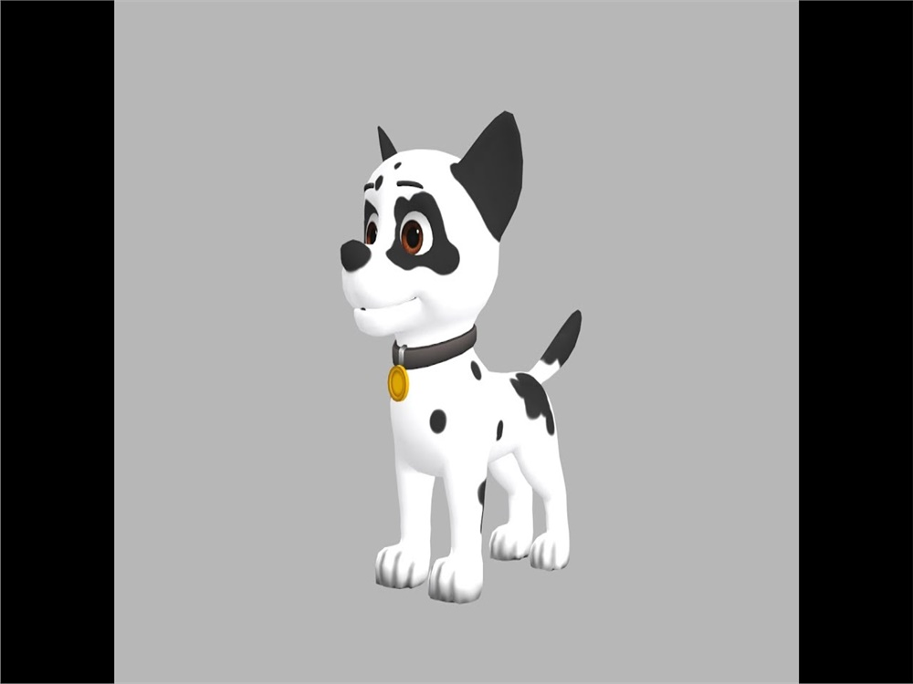 Dog Character Design for AKUT AR Project